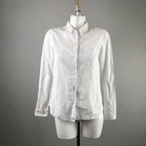 Current/Elliott Tops - Current/Elliot White Button Down Blouse Size 0